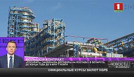 Роснефть заключила договор на поставку в Беларусь 9 миллионов тонн нефти