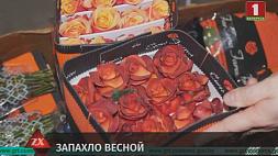 Около 100 тысяч роз пытались незаконно ввезти на территорию ЕАЭС через белорусско-литовскую границу