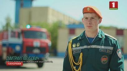 Лица парада. Курсант университета гражданской обороны МЧС Беларуси Дмитрий Голубович