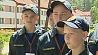 В Гомельском районе проходит 15-й слет юных спасателей-пожарных У Гомельскім раёне праходзіць 15-ы злёт юных ратавальнікаў-пажарнікаў